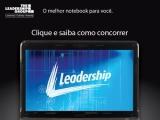 Quer concorrer a um Notebook Leadership sem sair de casa?