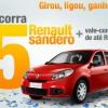 Quer saber como concorrer a 5 Renault Sandero?